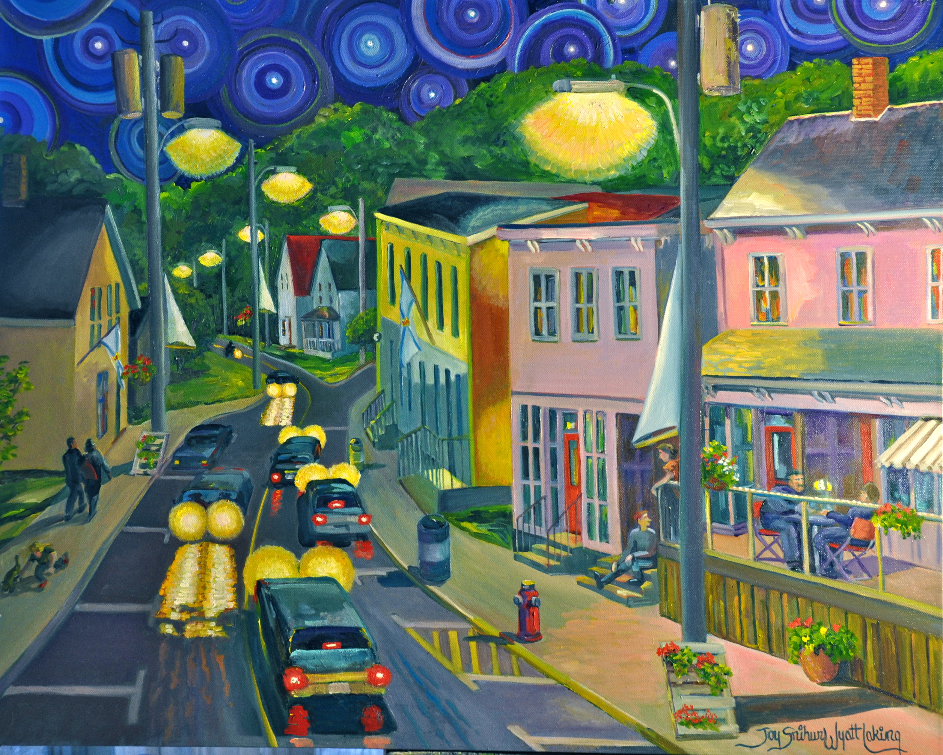starry night parrsboro joy laking gallery starry night parrsboro